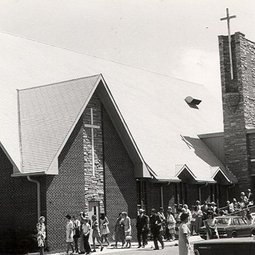 1965: First Christian At Sixth & Coffman