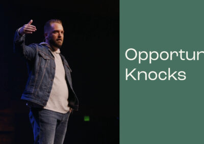 Letters To My Future Self: Opportunity Knocks